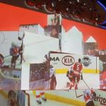 Comcast Sports Net CineMapping Xfinity Live